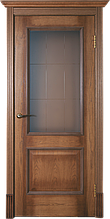 Межкомнатная шпонированная дверь Версаль орех