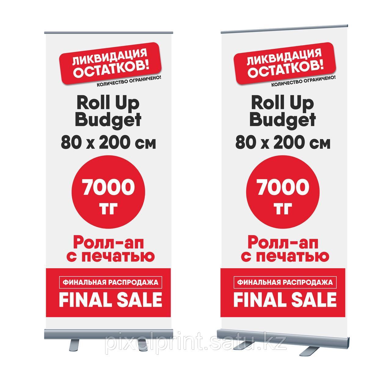 Ролл ап (Roll Up) 80x200 см