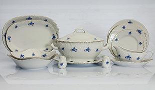 Сервиз столовый 12 персон 46 предметов Чехия Rococo G041