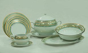 Сервиз столовый 6 персон 25 предметов Чехия 84020 opal