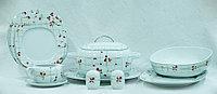 Сервиз столовый 6 персон 27 предметов Чехия 29801 LEON