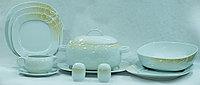 Сервиз столовый 6 персон 25 предметов Чехия 30105 LEON
