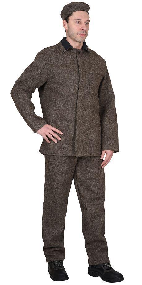 Костюм КЩС суконный: куртка, брюки.