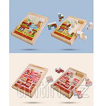 Деревянная игрушка - Тетрис-пазл, фото 2