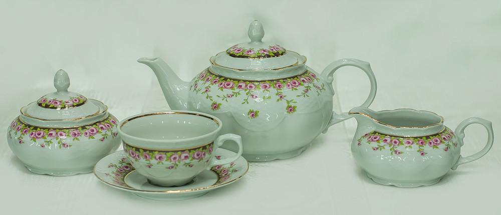 Сервиз чайный 6 персон 15 предметов 26634 Nicol