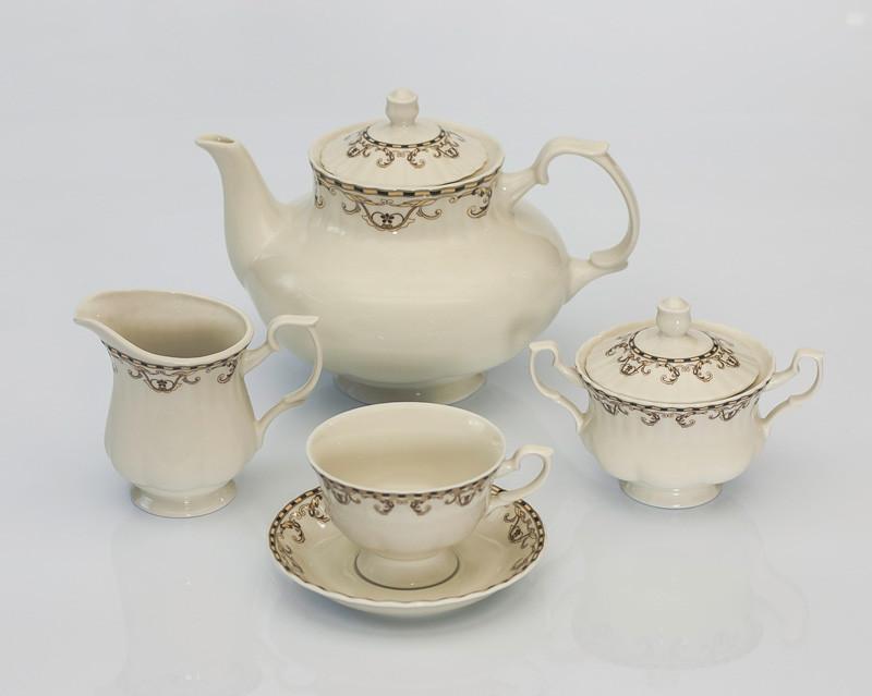 Сервиз чайный 12 персон 27 предметов K212 iwona ecru