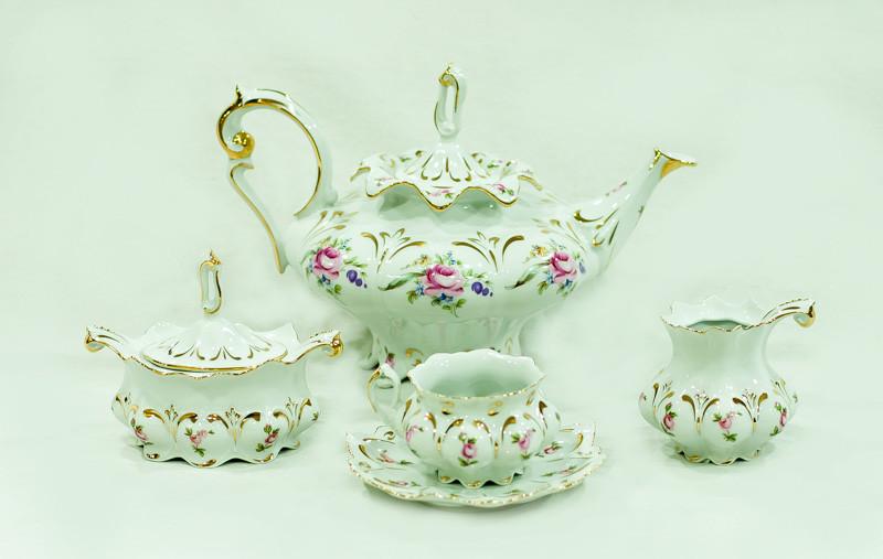 Сервиз чайный 6 персон 15 предметов 505 cs cr/w/15