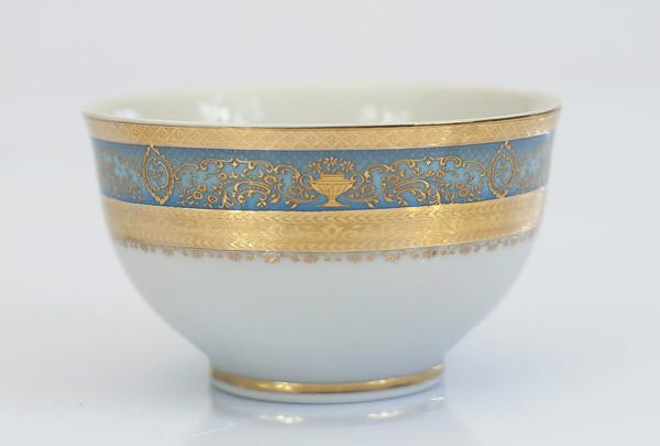 Пиала 10см Constanza Majestic Blue Gold