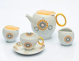 Сервиз чайный 12 персон 27 предметов Чехия Quebec E947