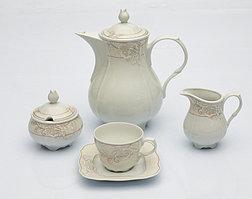 Сервиз кофейный 12 персон 27 предметов Чехия K184 romantica
