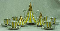 Сервиз кофейный 6персон 15предметов Чехия 9540100 obelisk
