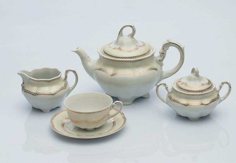 Сервиз чайный 12 персон 39 предметов Bolero E363