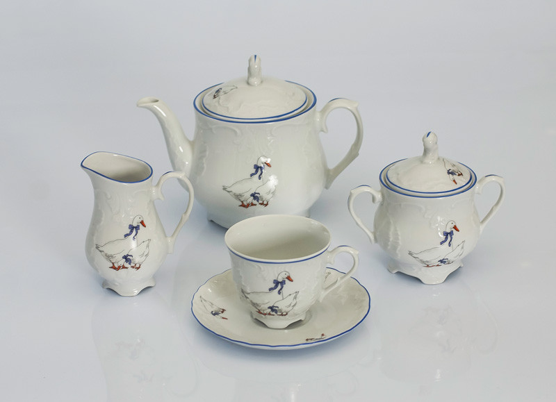 Сервиз чайный 12 персон 39 предметов Rococo E280