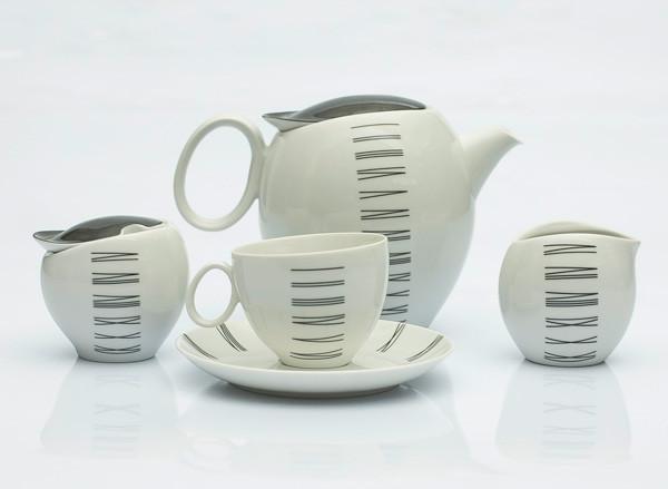 Сервиз чайный 12 персон 27 предметов Чехия Quebec E722