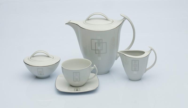 Сервиз чайный 12 персон 27 предметов Чехия Akcent E635