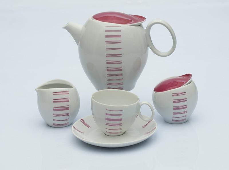 Сервиз чайный 12 персон 27 предметов Чехия Quebec E764