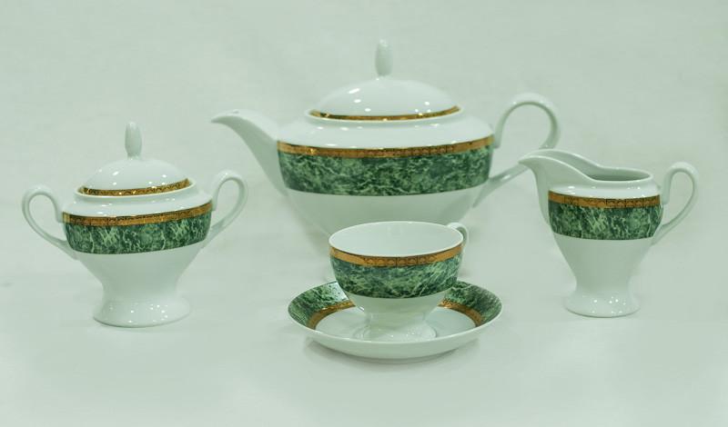 Сервиз чайный 6 персон 17 предметов 20700 PRESIDENT