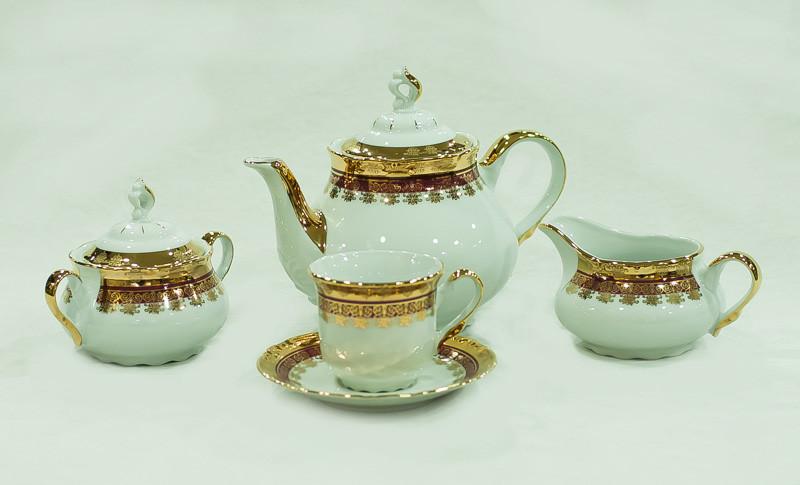 Сервиз чайный 6 персон 15 предметов 76271 constance