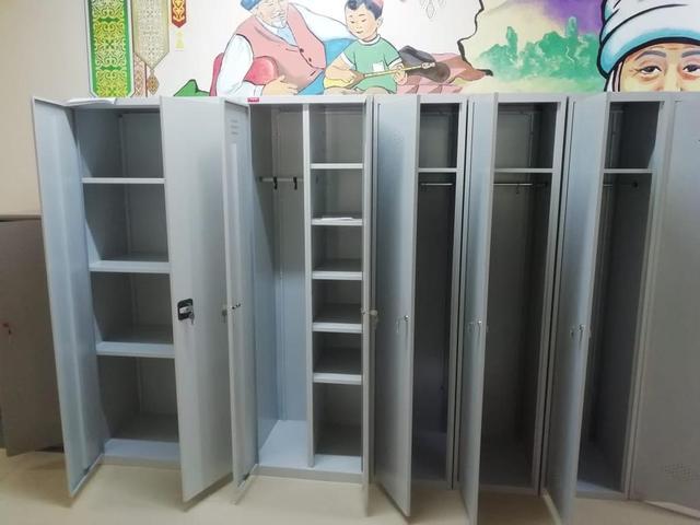 Шкафы раздевальные для детского садика на Гагарина - Карасай батыра 9