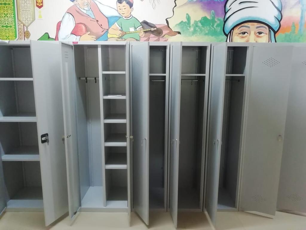 Шкафы раздевальные для детского садика на Гагарина - Карасай батыра