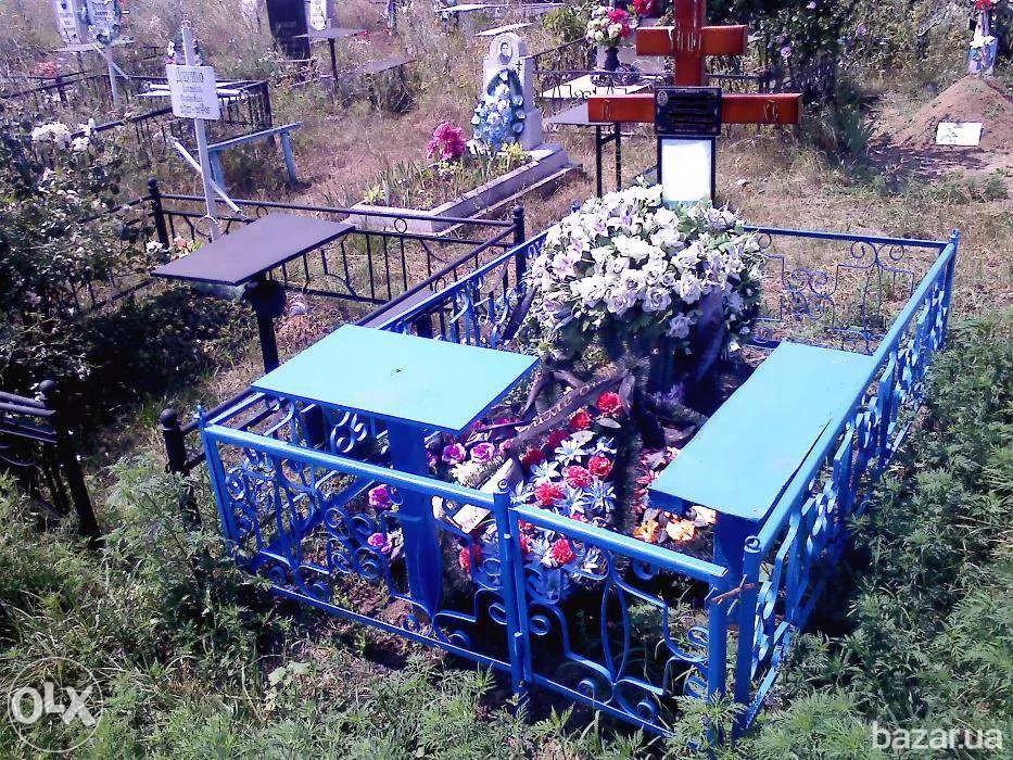Покраска, уборка и уход за могилой в пределах города Алматы