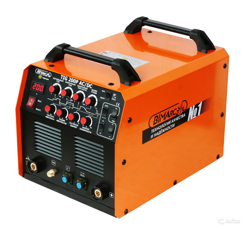 Аппарат для аргонодуговой сварки 200 Амп AC/DC