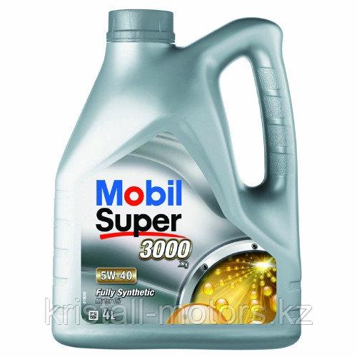 Моторное масло MOBIL Super 3000 5W-40 208L на разлив с бесплатной заменой