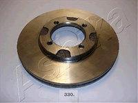 Тормозные диски Mazda  626 (83-87, передние, D229, Ashika)