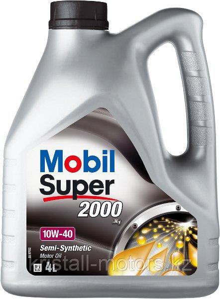 Моторное масло MOBIL Super 2000 10W-40 208L на разлив с бесплатной заменой