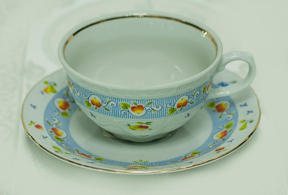 Набор чайных пар 6 персон 12 предметов 165мл 266270 Tulip