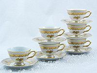 Набор чайных пар 6 персон 12 предметов 88004 MARIE LOUISE