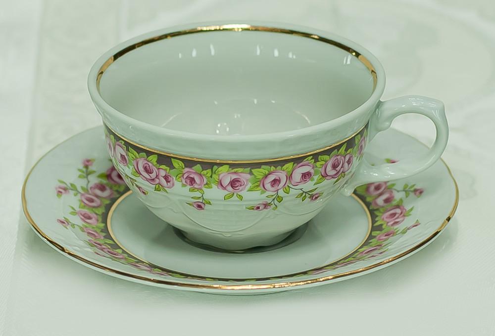 Набор чайных пар 165 мл. 6 персон 12 предметов 26636 Nicol