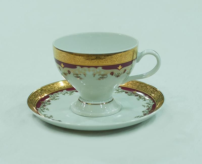 Набор чайных пар 6 персон 12 предметов 87002 christina