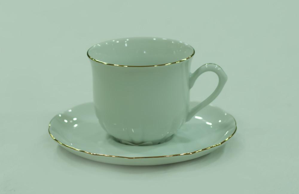 Набор чайных пар 6 персон 12 предметов 81004 ROSE