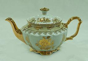 Чайник заварочный Золотая роза бежевая