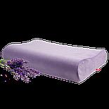"""Анатомическая подушка """"OrtoSleep Classic Lavanda M"""" (с регулировкой высоты), фото 3"""