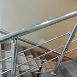 Нержавеющие ограждения из металла, фото 3