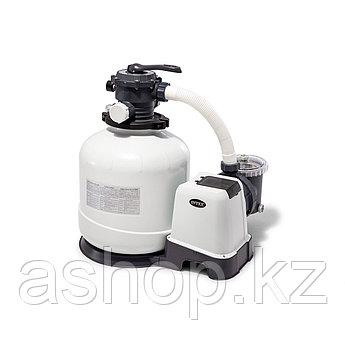 Насос песочный фильтрующий Intex 26652, 12113 л/ч, Цвет: Серый
