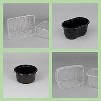 Пластиковые одноразовые контей...