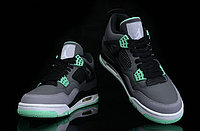 "Кроссовки Air Jordan 4(IV) Retro ""Green Glow"" (36-46), фото 4"