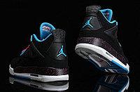 Кроссовки Air Jordan 4(IV) Retro Black Blue Pink (36-46), фото 9