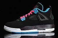 Кроссовки Air Jordan 4(IV) Retro Black Blue Pink (36-46), фото 6
