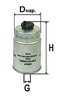 ФТ-020-1117010 Фильтр топливный (Т6101/1) резьбовой
