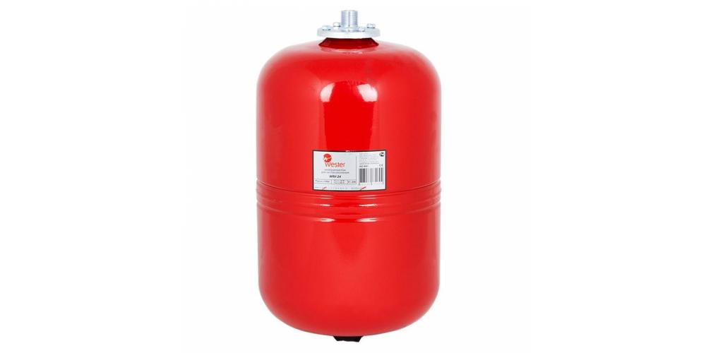 Бак расширительный  мембранный  для отопления  Wester 24 л