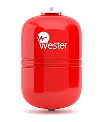 Wester 12 л расширительный бак вертикальный (красный)