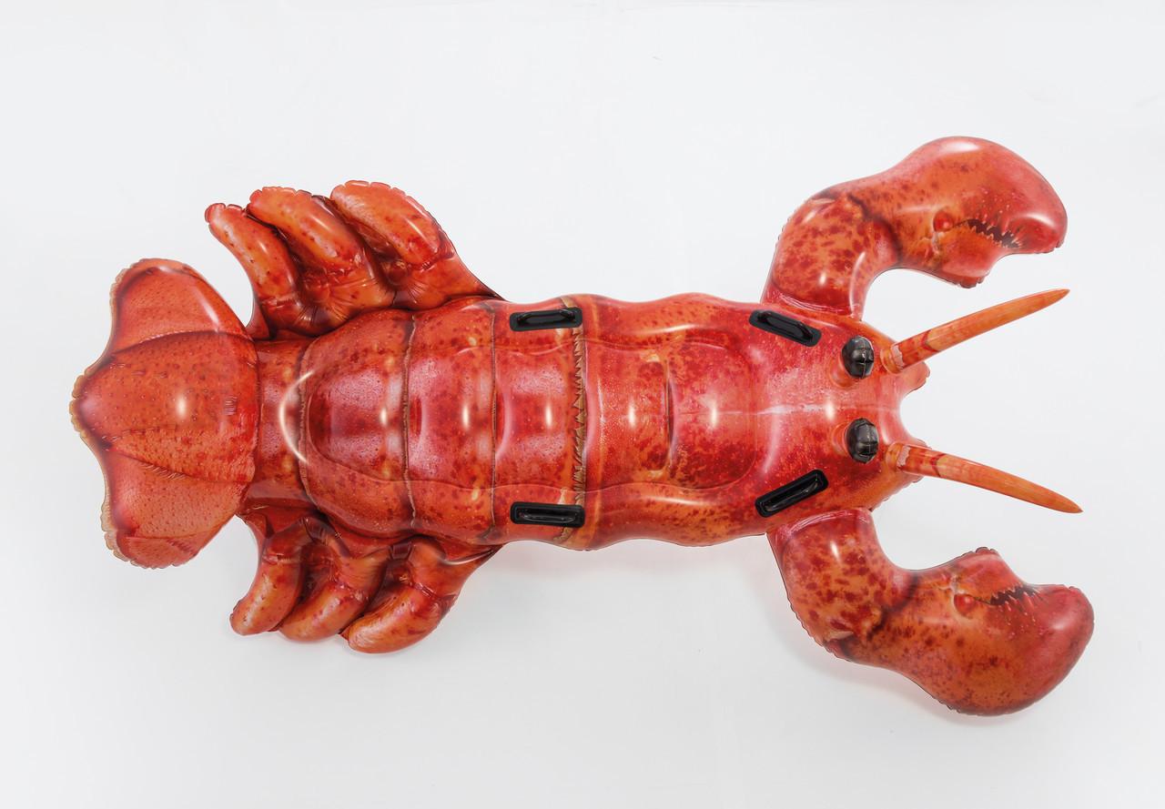 Надувная игрушка плотик Intex Лобстер, 2 места Возрост: От 3 лет, Нагрузка: 55 кгкг, Винил, Цвет: Красный