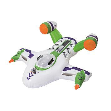 Надувная игрушка Bestway Реактивный самолет, 2 места Возрост: От 3 лет, Воздушных камер: 2, Винил, Цвет: Бело-