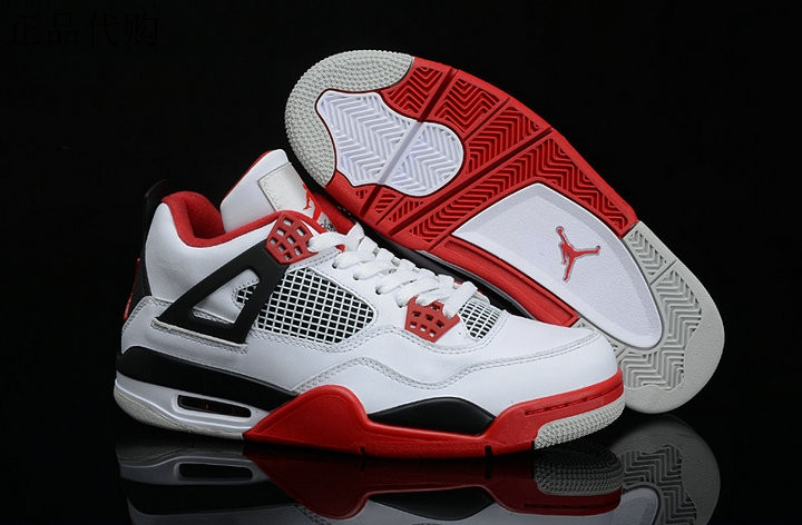 "Кроссовки Air Jordan 4(IV) Retro ""Fire Red"" (36-46)"