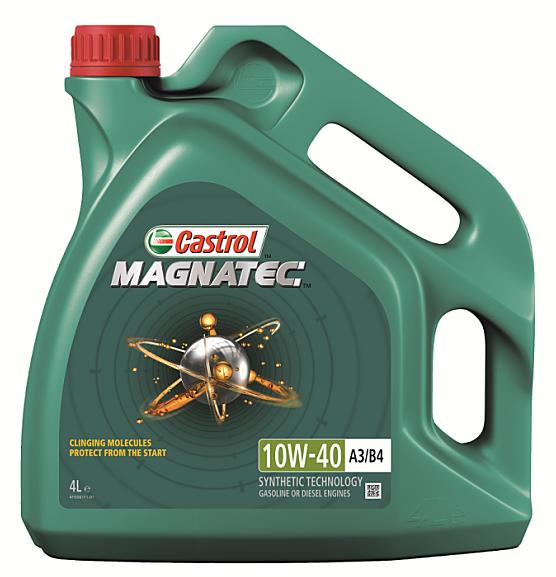 Масло моторное Castrol Magnatec 10W40 A3/B4 4L