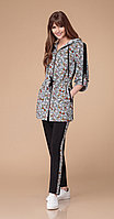Спортивная одежда Svetlana Style-1246, серый+черный, 44